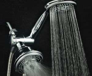 Rubbing Handheld Shower Head