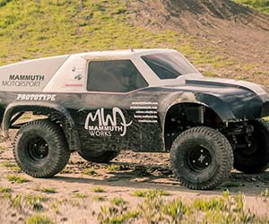 Massive 1:3 Scale R/C Car