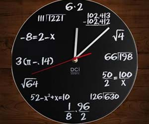 The Math Clock