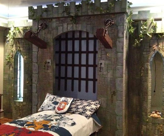Medieval Castle Murphy Bed