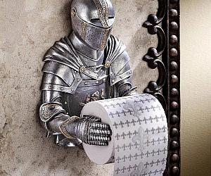 Knight Toilet Paper HolderGold Toilet Paper. Gold Flake Toilet Paper. Home Design Ideas