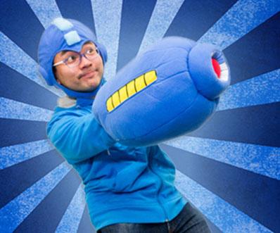 Mega Man Arm Pillow