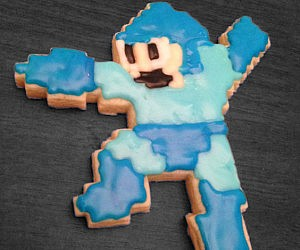 Mega Man Cookie Cutter