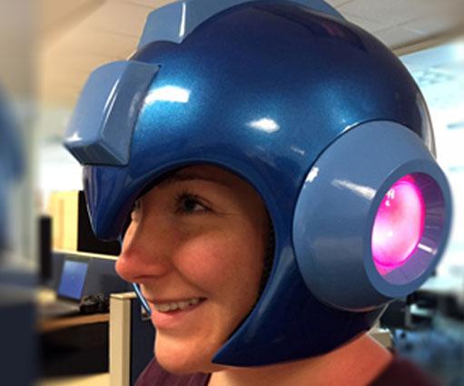 cebfa4394e7 Mega Man Helmet