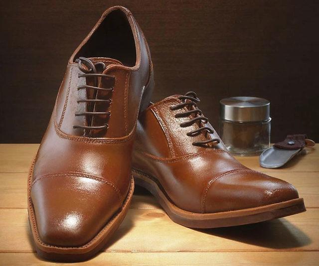 Edible Chocolate Men's Dress Shoes