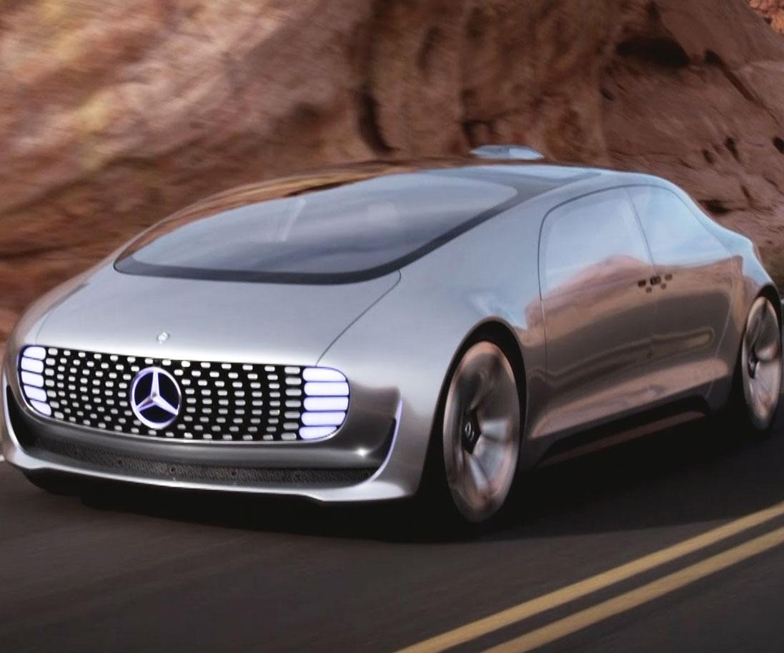 Mercedes Benz Self Driving Car