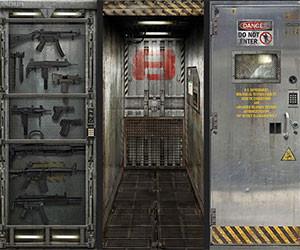 Metal Door Decals