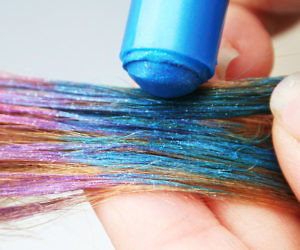 Metallic Glitter Hair Chalk