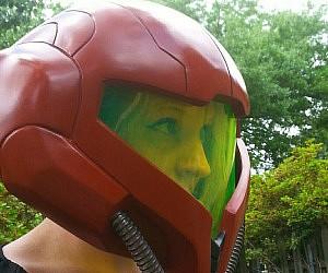 Metroid Samus Helmet