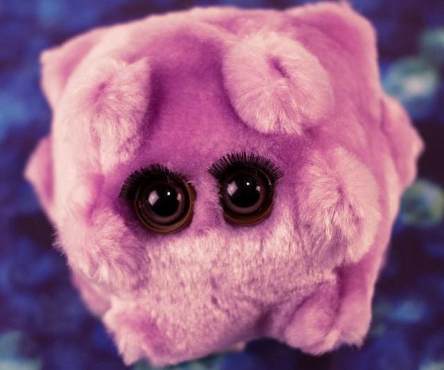 Microbe Plushies