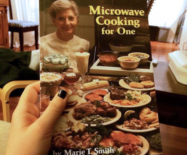 Microwave Cooking For One Cookbook