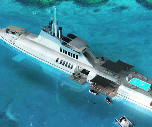 Migaloo Submarine Superyacht