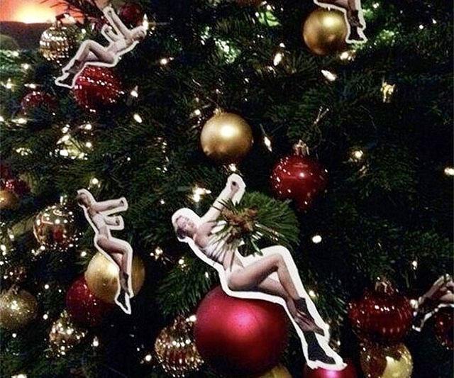 miley cyrus wrecking ball ornament - Miley Cyrus Christmas