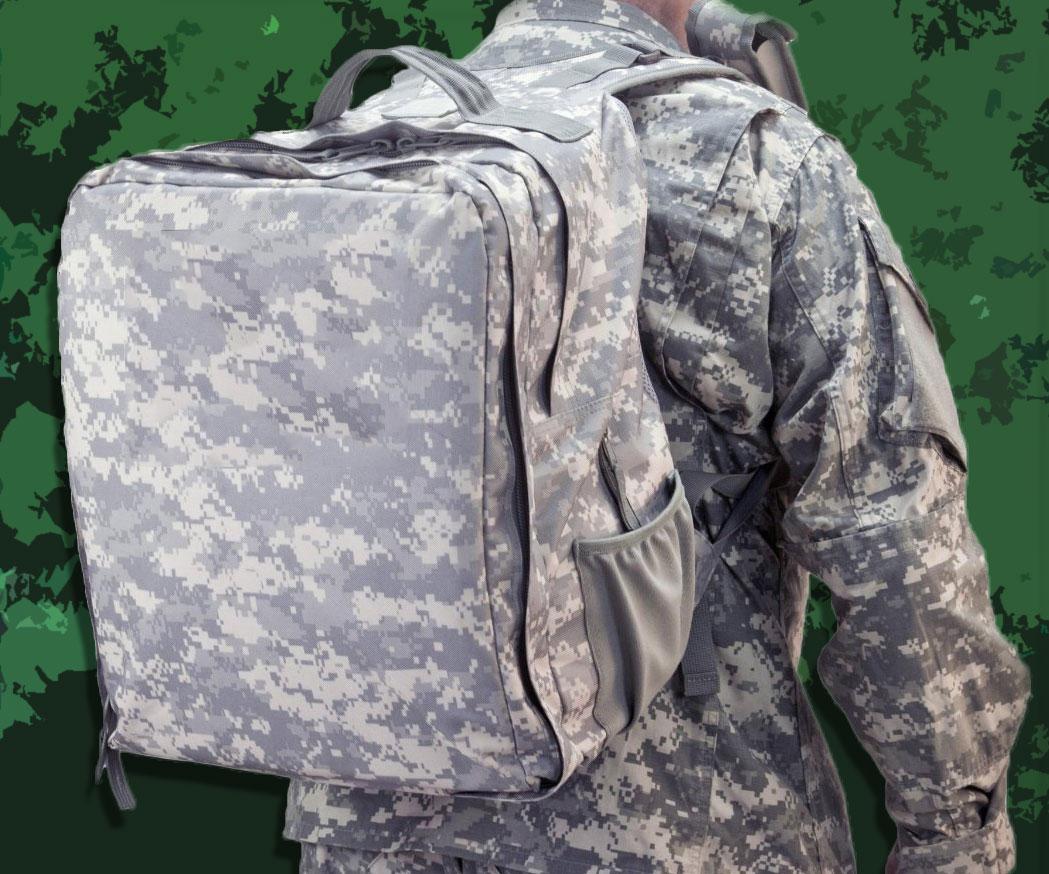 Military Diaper Backpack