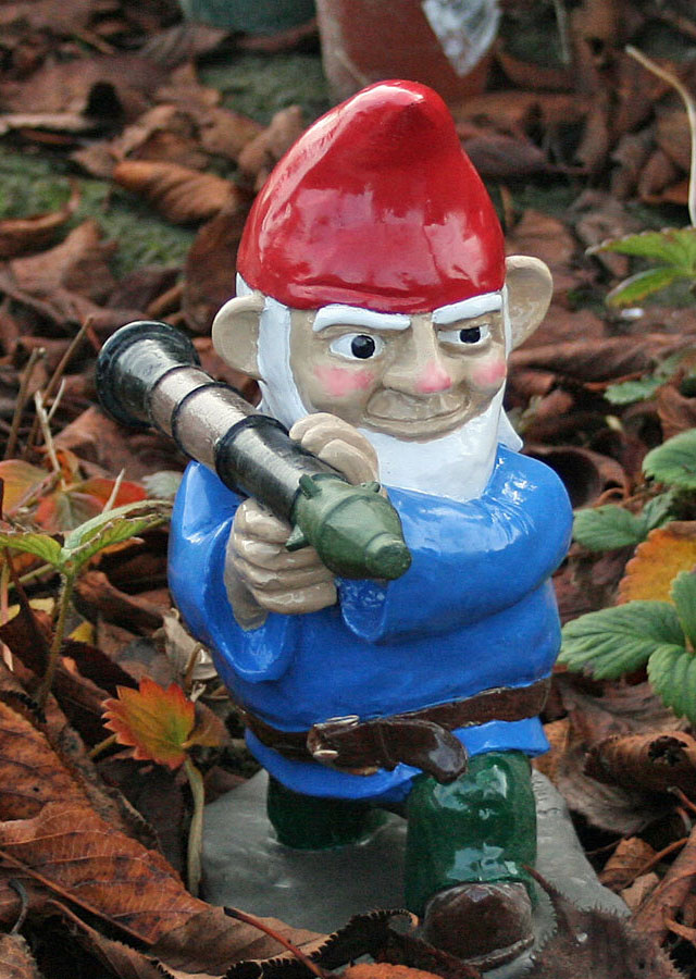 Perfect Combat Lawn Gnomes Part 3