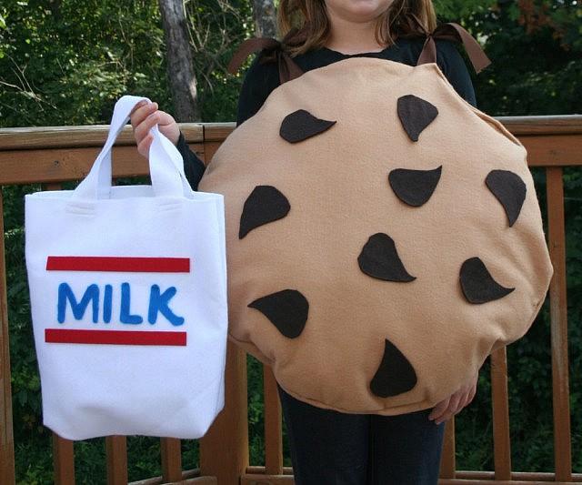 & Milk And Cookies Costume