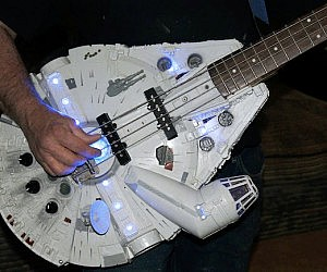 Millennium Falcon Bass Guitar