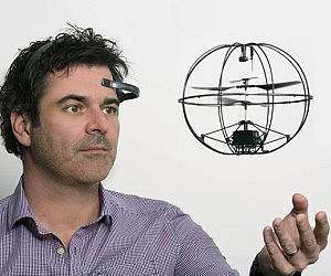 Mind Controlled Helicopter