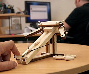 Mini Wooden Ballista