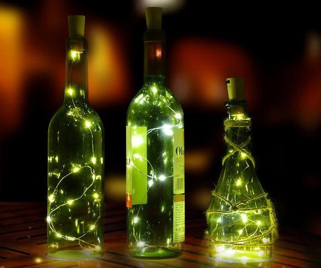Mini String Lights Adorable Mini Bottle String Lights
