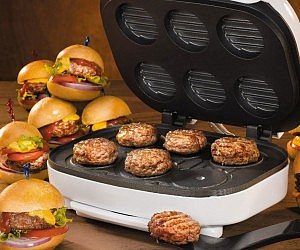 Mini Burger Machine