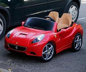 Mini Ferrari Battery Car