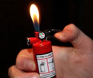 Mini Fire Extinguisher Lig...