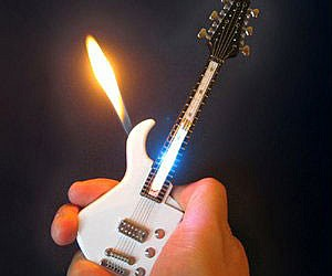 Mini Guitar Lighter