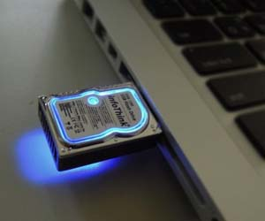 Mini Hard Drive USB Drive