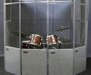 Drum Set Isolation Booth