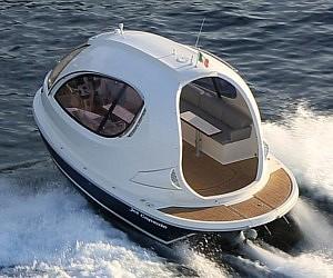Miniature Luxury Yacht