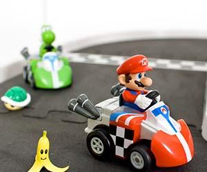 Mini Mario Kart R/C Cars