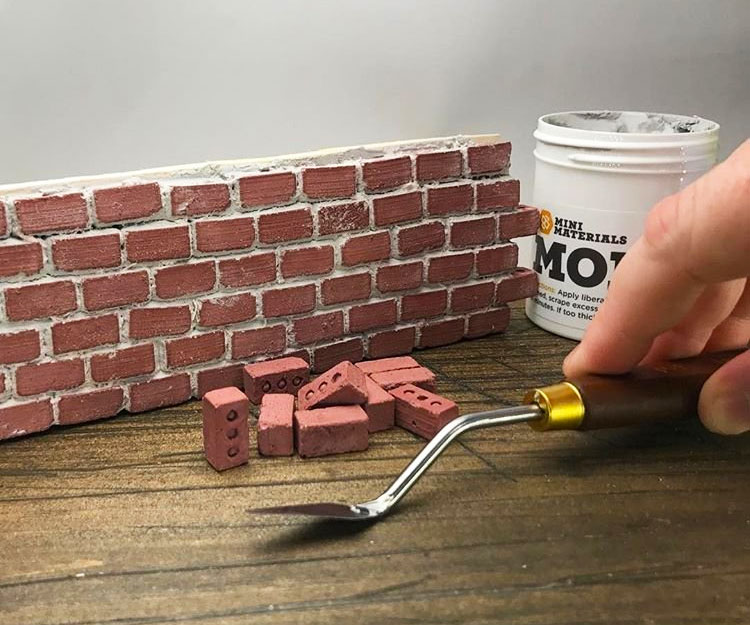 Mini Red Construction Bricks