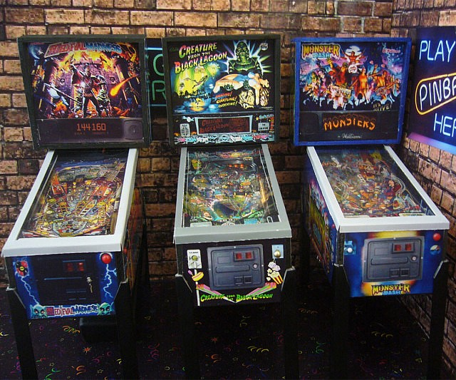 Mini Replica Pinball Arcade Machines
