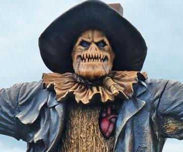 Mini Scarecrow Statue