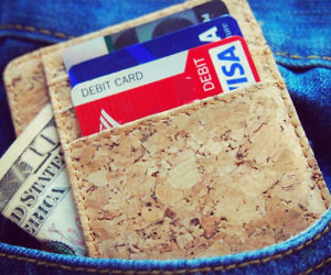 Minimalist Cork Wallet