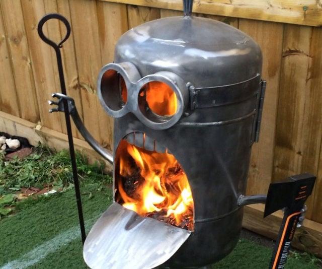 Minion Fire Pit