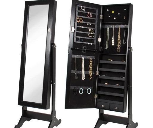 Jewelry Cabinet Mirror