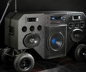 Mobile Boombox Sound System