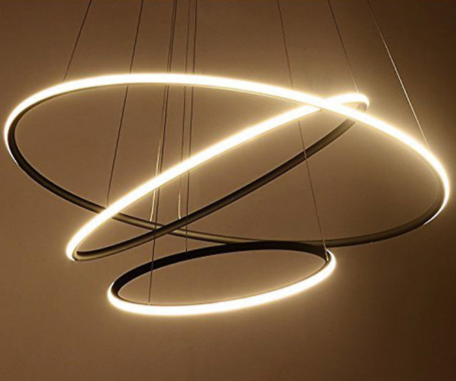Awesome Circular LED Chandelier