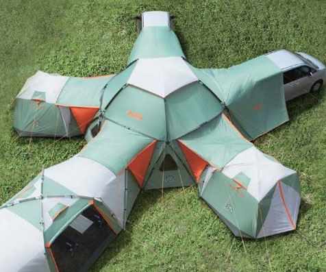 Infinitely Modular Tent : inflatable family tents - memphite.com