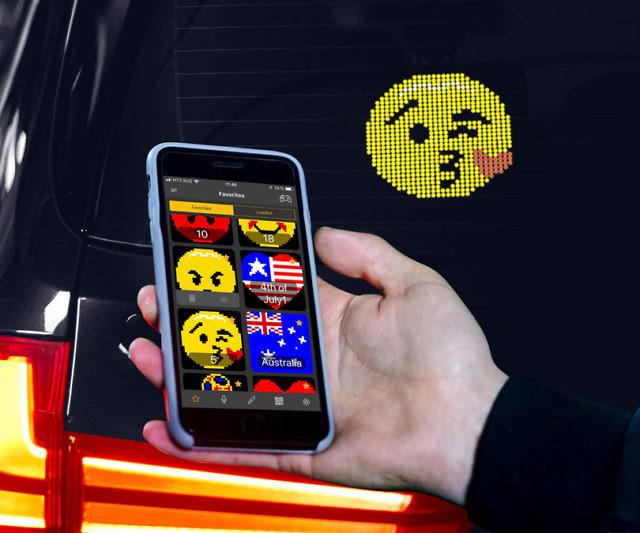 The Emoji Car Display System