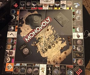 game of thrones monopoly board