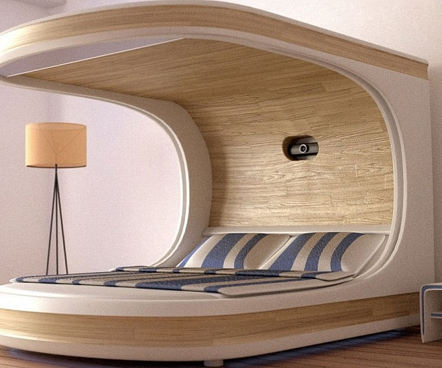 Smart Self Contained Bedroom Bed
