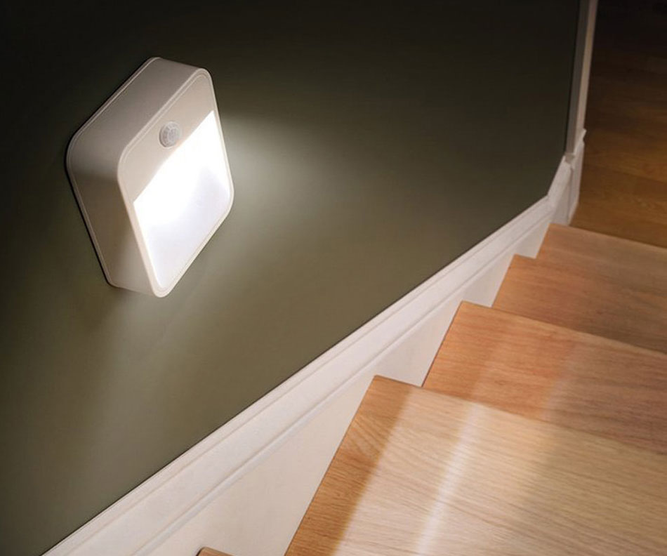Motion Sensing Stick-Anywhere Nightlight