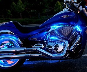 Motorcycle Led Kit >> Motorcycle Led Light Kit