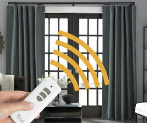 Motorized Curtain Rods