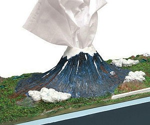 Mount Fuji Tissue Dispenser