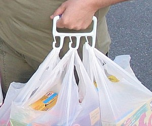 Multiple Grocery Bag Carrier