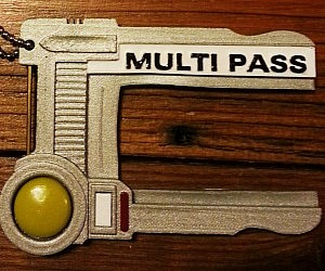 The Fifth Element Multipass ID Holder